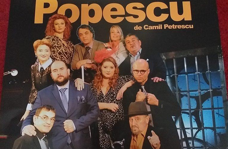 """Teatrul Nottara vine la Câmpina cu """"Mitică Popescu"""" – spectacol subvenționat"""